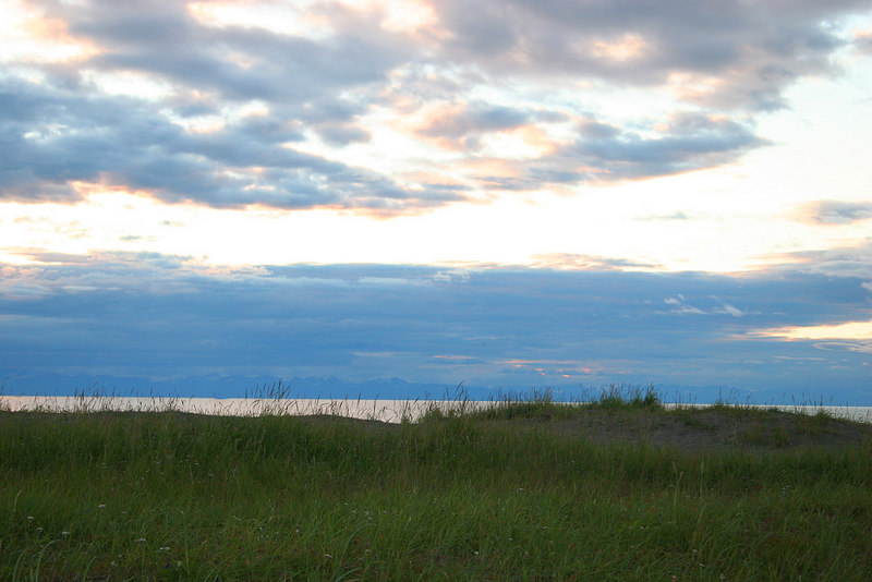 Mouth of the Kasilof River