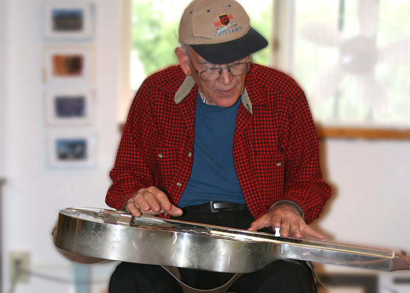 Jim Kaufman playing the Dubro