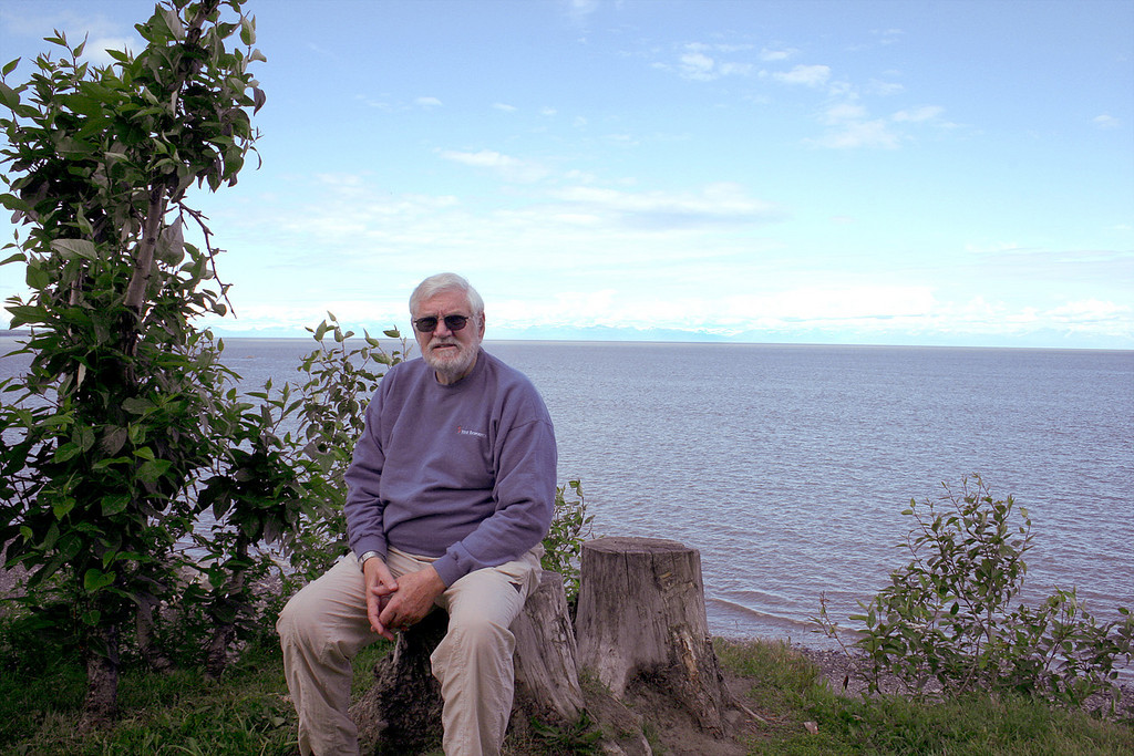 Mike at Discovery Campground in Captain Cook State Recreation Area, Kenai, AK