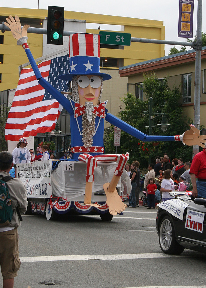 One of many floats