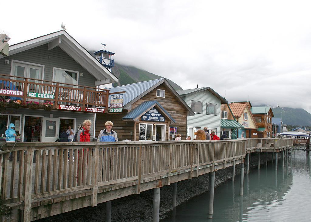 Wharf at Seward Harbor