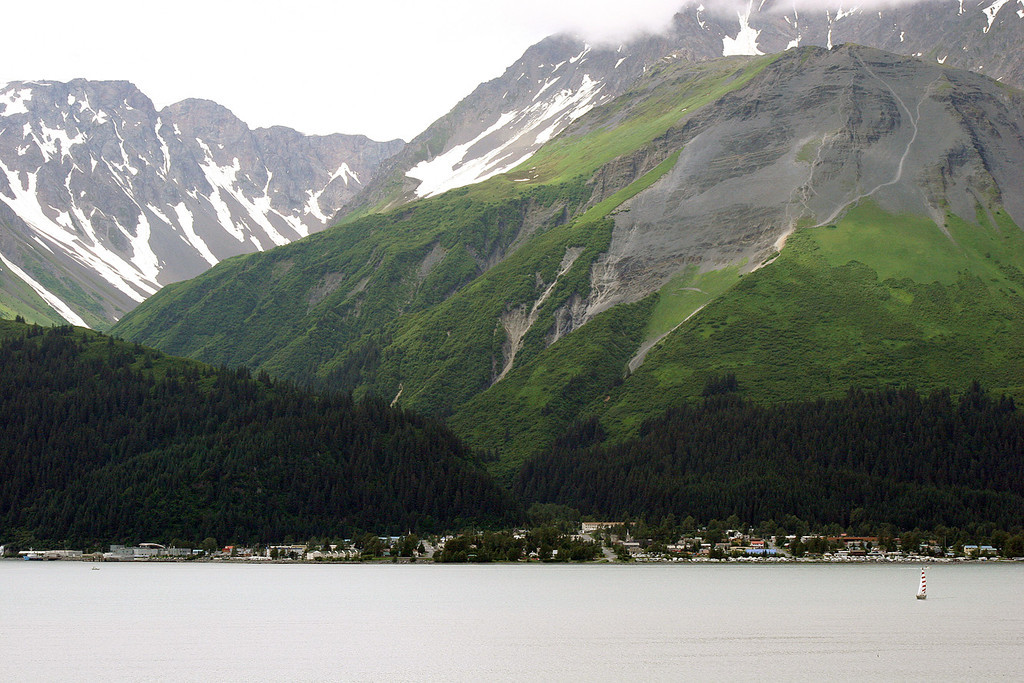 Seward Across Resurrection Bay