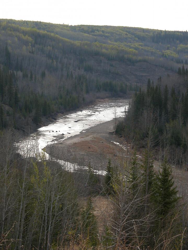 5/11/06 - This Kiskatinaw River