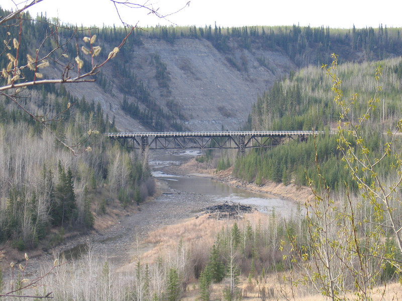 5/11/06 - The Kiskatinaw Bridge from a distance