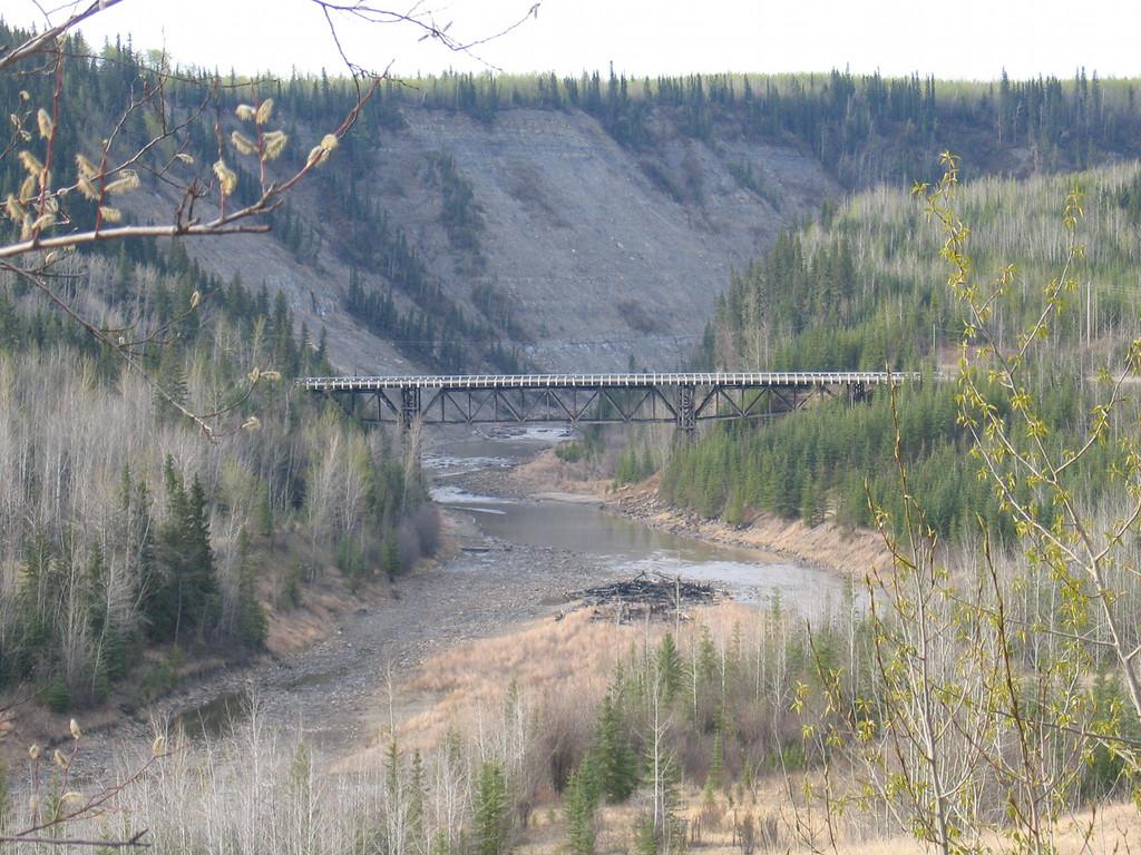 5/11/06 - The Kiskatinaw Bridge from a distance