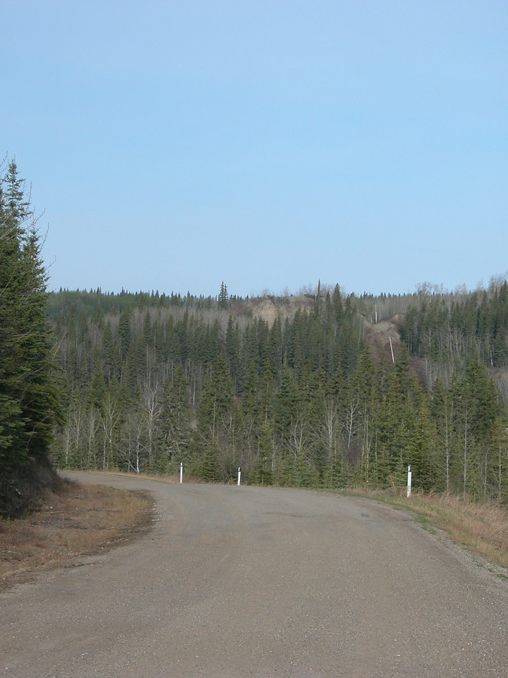 5/11/06 - Along part of the old historic Alaska Highway