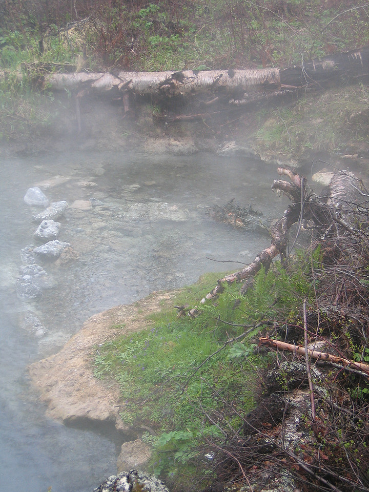 5/14/06 - Headwaters of the hot springs