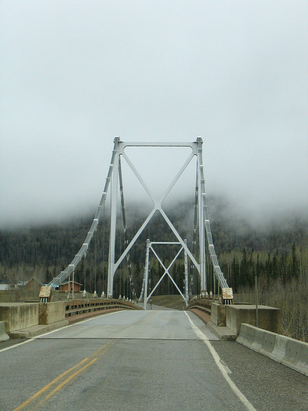 5/14/06 - The Liard River Bridge