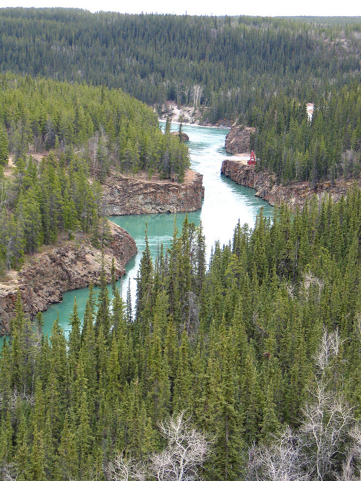 5/17/06 - Miles Canyon and the Yukon River