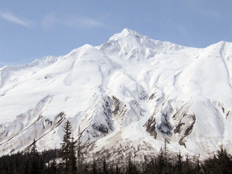 about 35 miles east of Haines