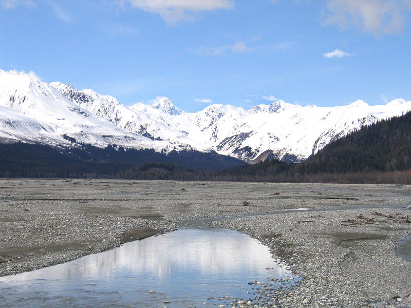 Klehini River about 20 miles east of Haines