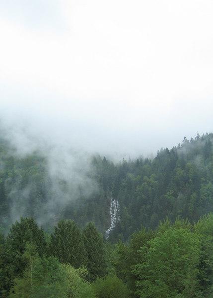 Bridal Veil falls at Chilliwack, BC