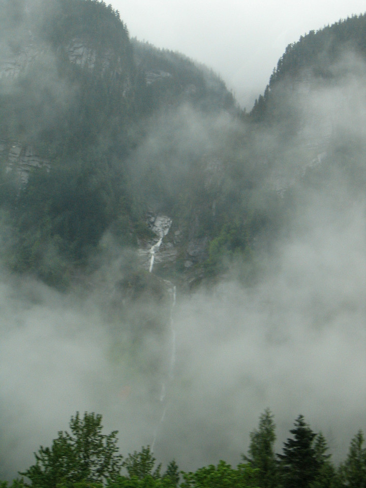 Waterfall outside of Hope, BC