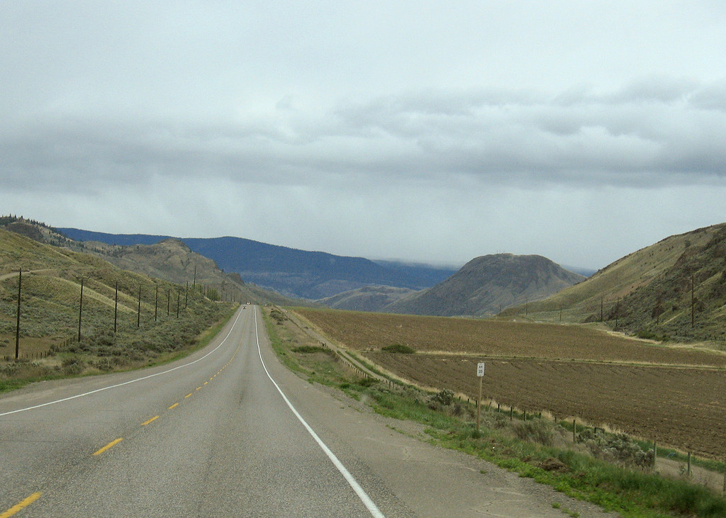 Countryside just south of Cache Creek, BC