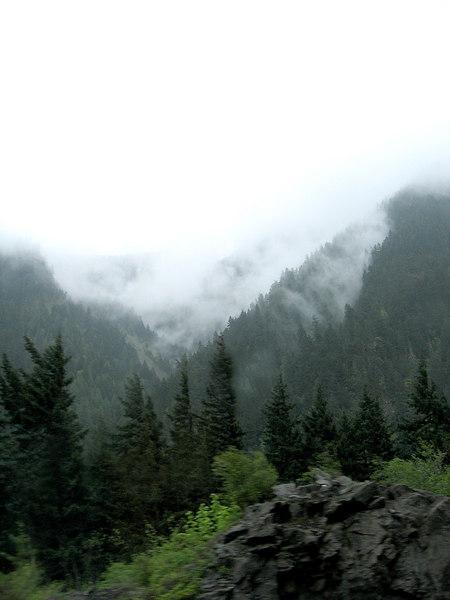 Mountains south of Boston Bar, BC
