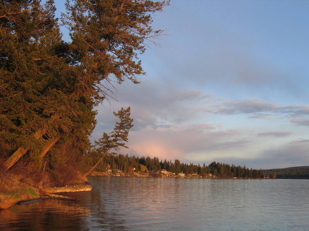 Sunset on Lac La Hache