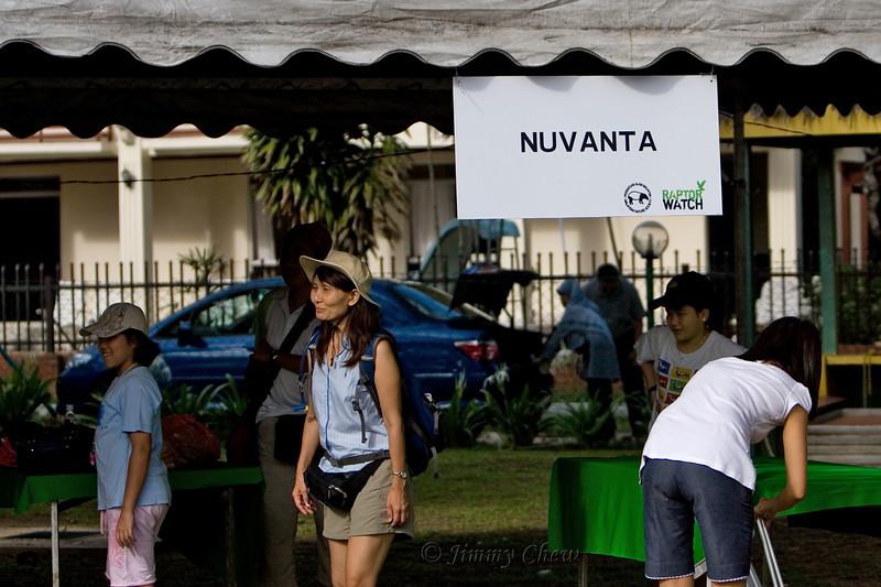 Nuvanta booth at Ilham Resort.