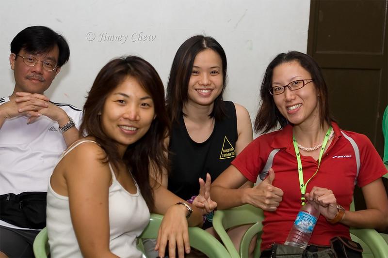 Kin Hou, Katie, Veron and Say Li.