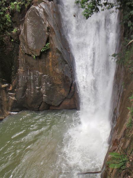 OLYMPUS DIGITAL CAMERA. Halfway to the higher falls.