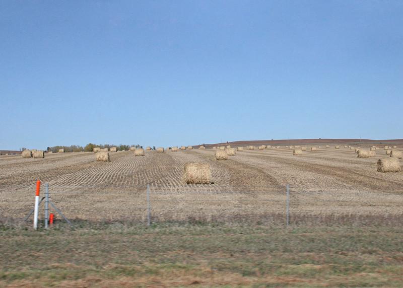 Avout 7 miles east of Dorrance, Kansas