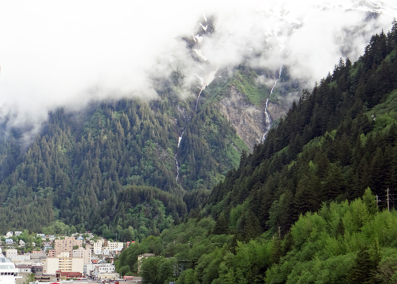 Juneau from the ship