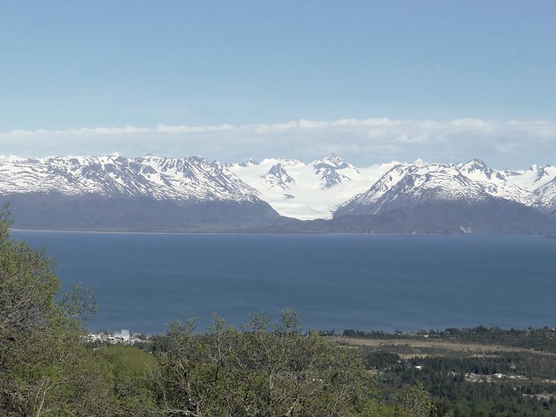 Kechemak Bay, and glacier