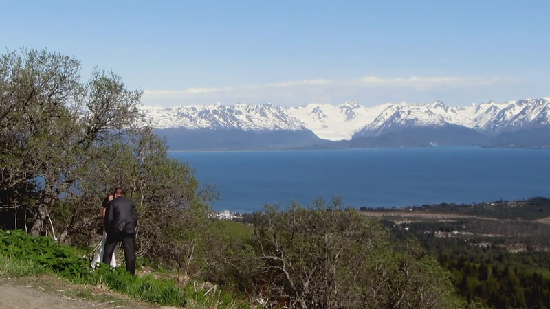 This video is taken from the ridge above Home and show Kechemak Bay, the surrounding mountains and glacier and the Homer Spit