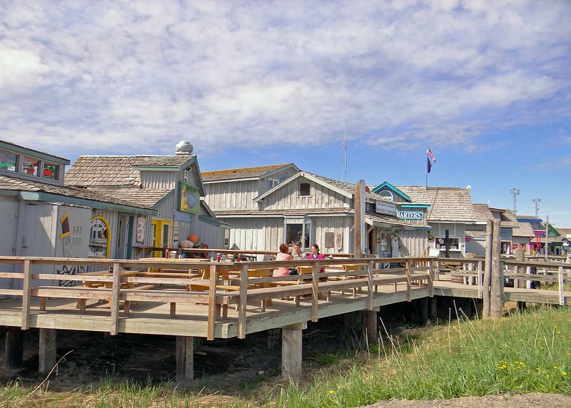 Boardwalk on the Homer Spit