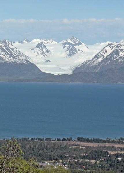 Kechemay Bay, and glacier