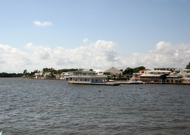 Belize from the dock