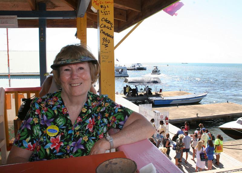 Susan at the Wet Lizard