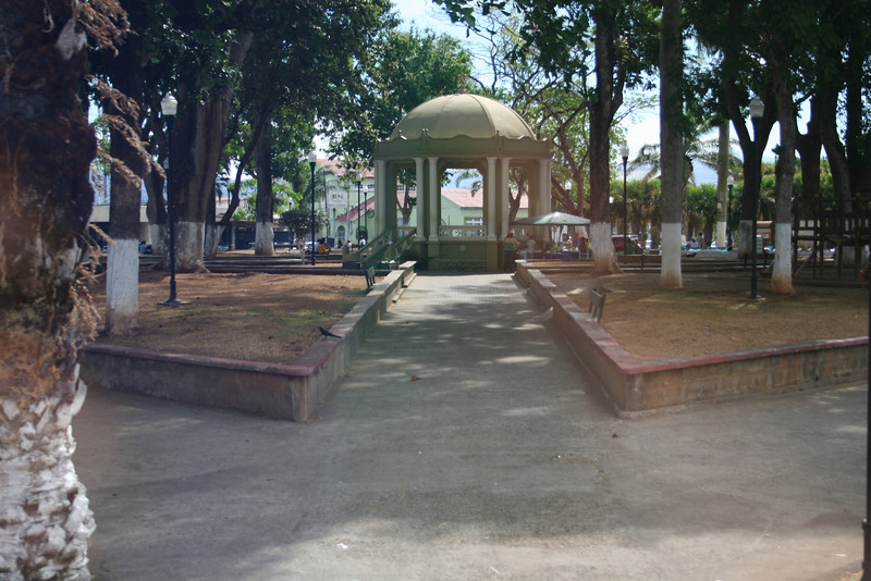 Gazebo in Esparaza