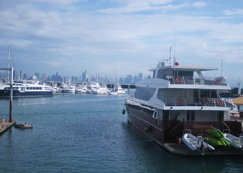 Harbor at Puerta Amador, Panama