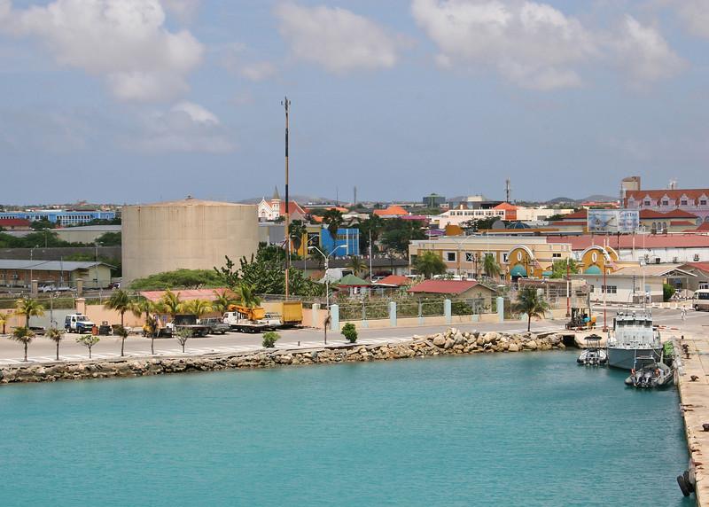 Aruba from dock