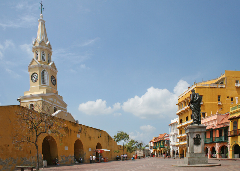Plaza de los Coches is the most central plaza in the city.