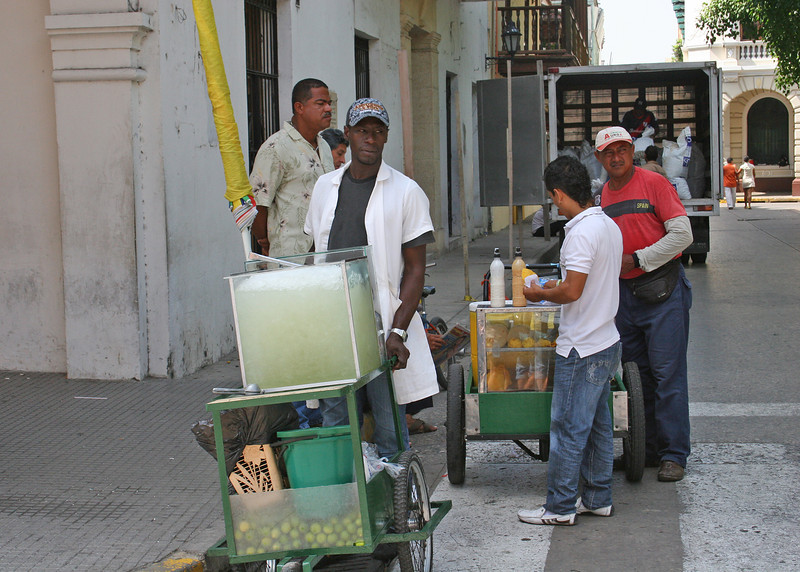 Fruit juice vendor