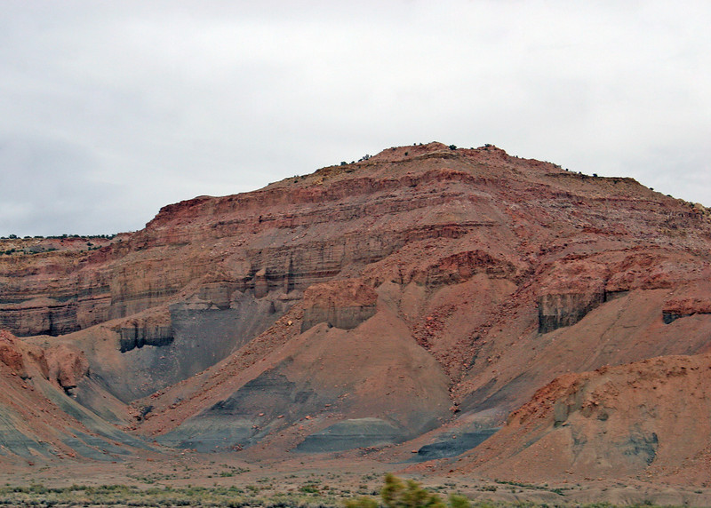About 70 miles to Green River, UT