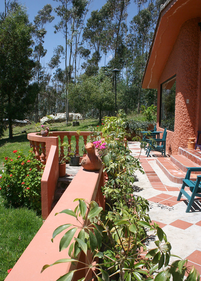 This is the front porch of our casita.