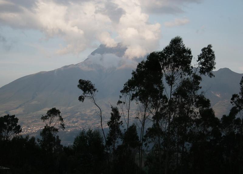 Volcano Imbabura.