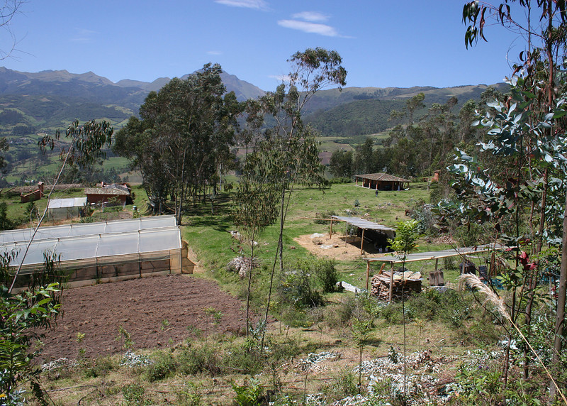 A view into part of the Ali Shungu Mountaintop Resort compound.