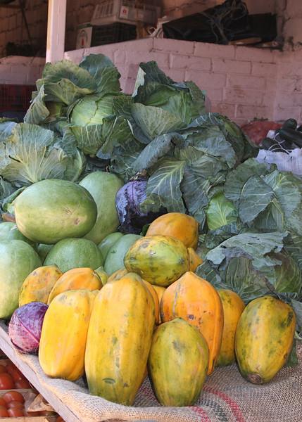 Beautiful, large vegetables