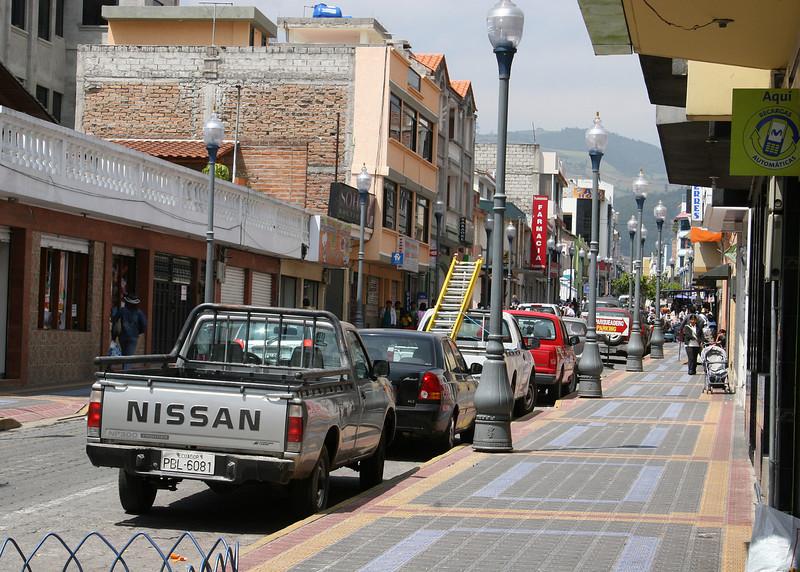 Street in Otavalo