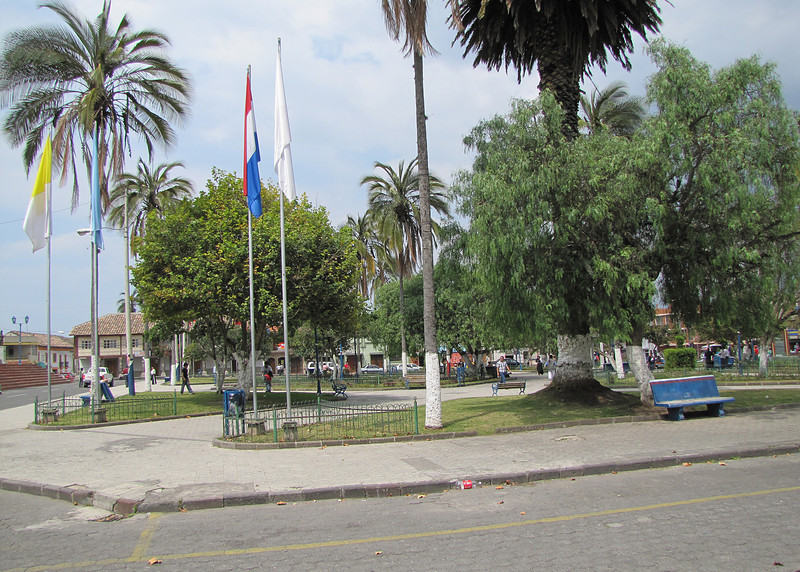This is the plaza