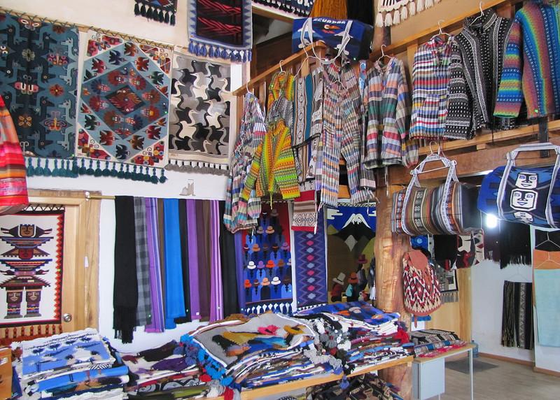Inside Jose Cotacachi's showroom