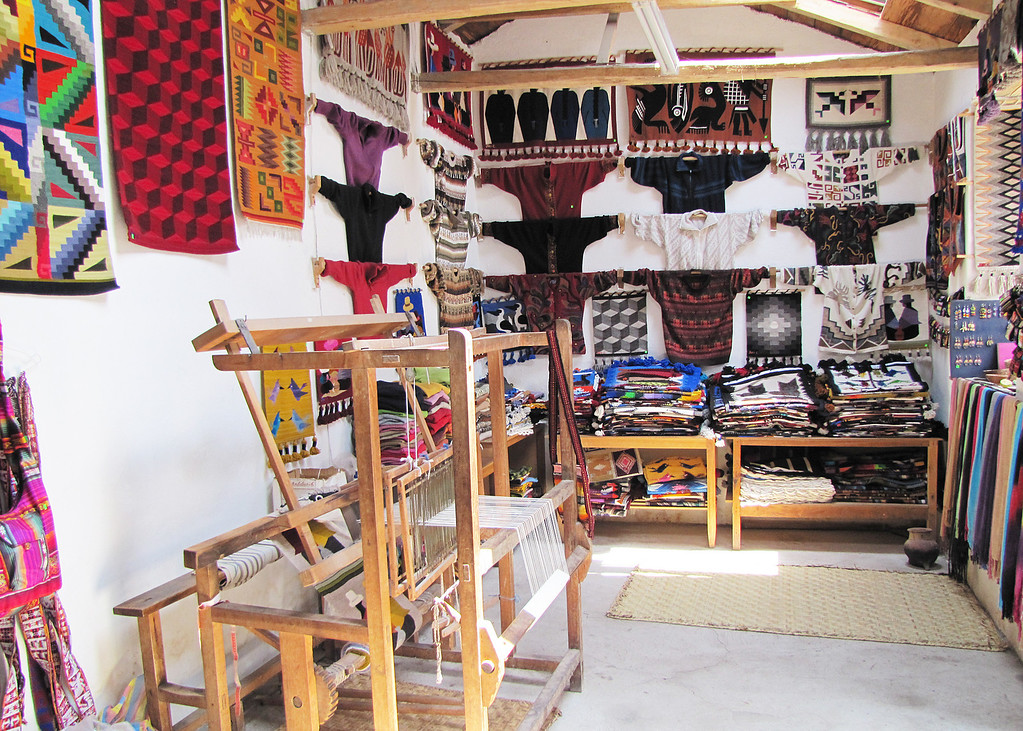 Another of Jose Cotacachi's showrooms