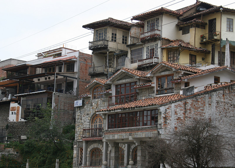 "I was fascinated by the beautiful architecture in Cuenca; just some of the buildings in ""Old Town""."