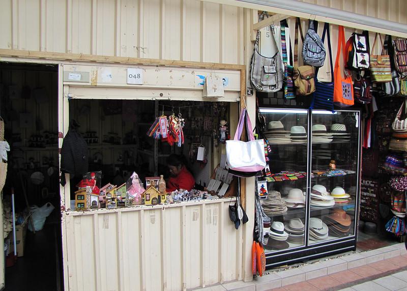 One of the shops in Casa de la Mujer