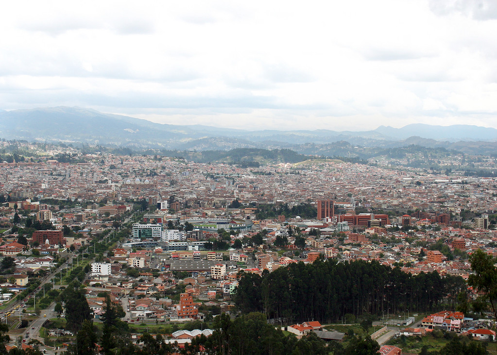 View of Cuenca from Turi