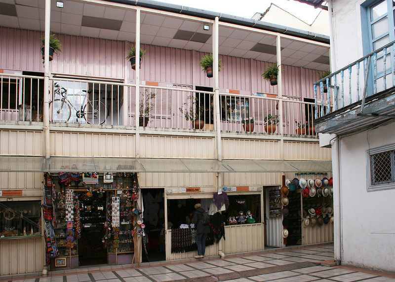 Casa de la Mujer.  The government provides a space in these shops for single women to sell their good.