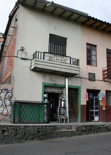 Buildings of Cuenca
